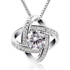 Swarovski Crystal Diamond Necklace